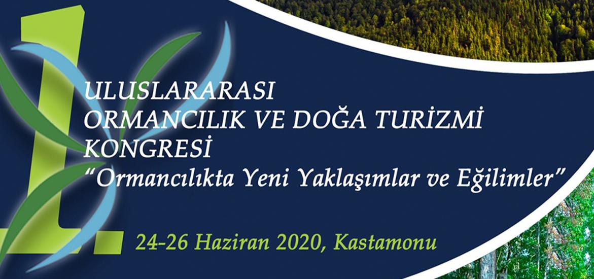 I. Uluslararası Ormancılık ve Doğa Turizmi Kongresi (InFoNT 2020) Üniversitemizde Düzenlenecek